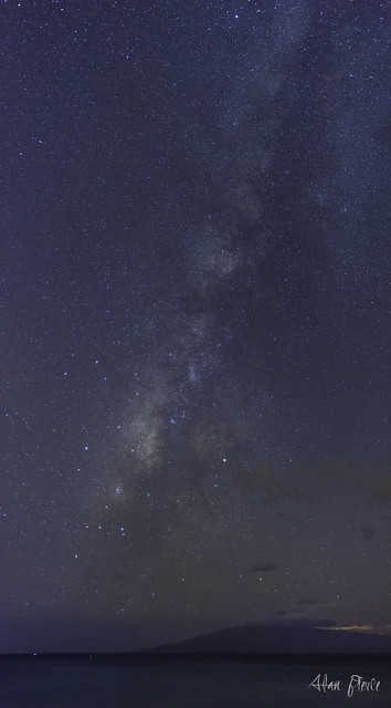 The Milky Way, shot from Maui, Hawaii