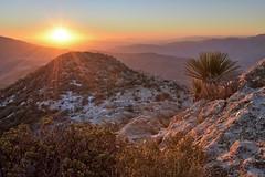 Sunset from the Granite Mountain Summit
