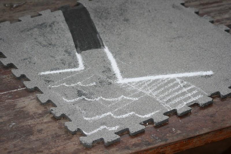 Plateau de jeu à partir de tapis de sol puzzle 37155924314_bc02c58243_o