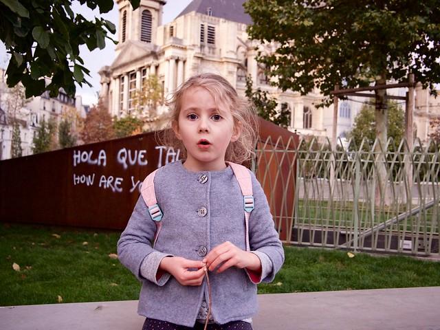 Child in Paris