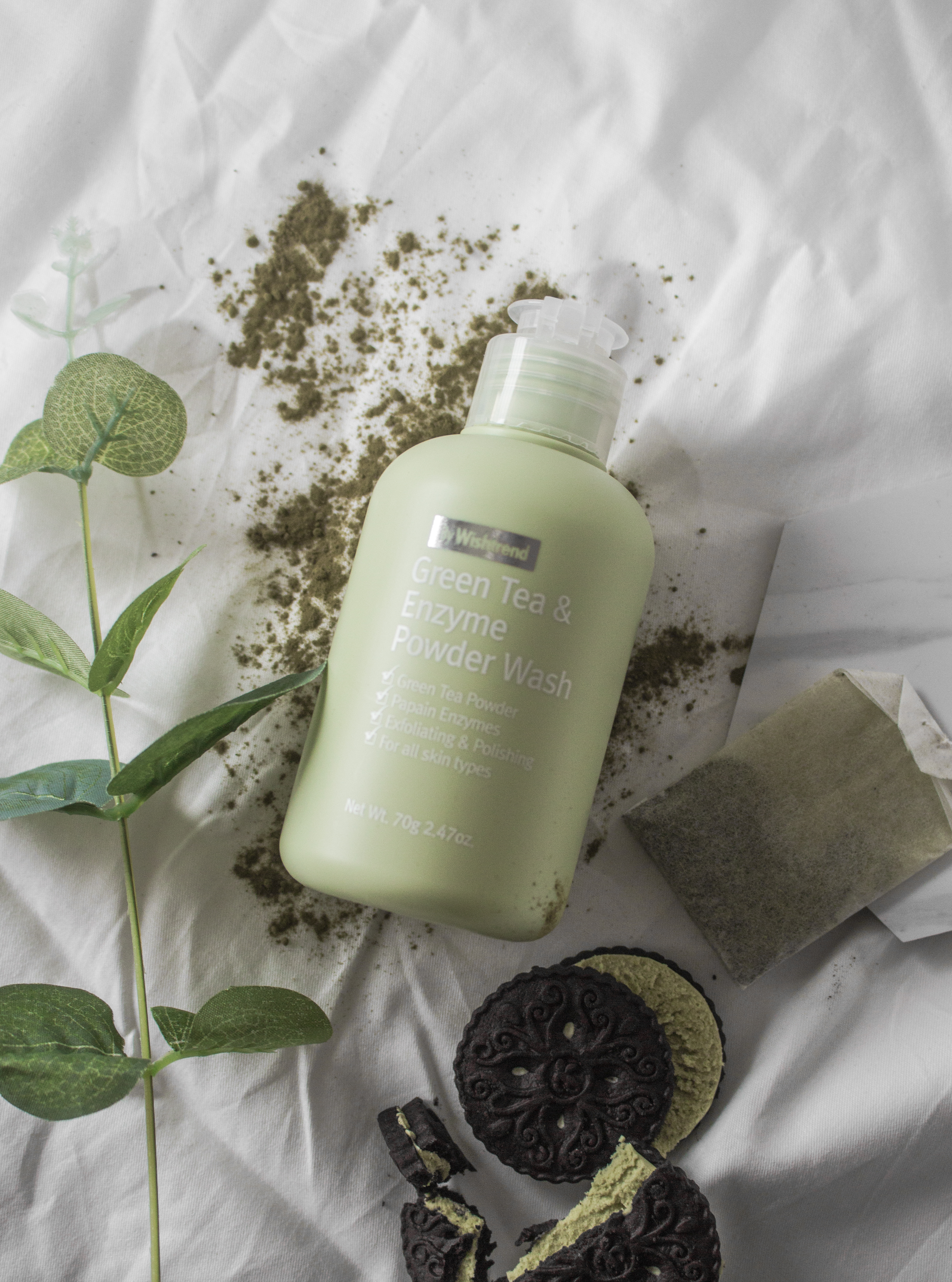 By Wishtrend Green Tea and Enzyme Powder Wash