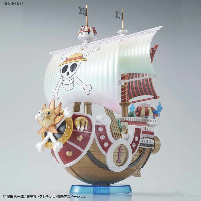 「既然你總有一天要成為『海賊王』!那就搭乘這艘有如『百獸之王』的船吧!」偉大的海賊船系列《海賊王》千陽號 サウザンド・サニー号 紀念配色Ver.