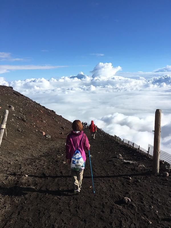 富士山登山下山路線-吉田路線