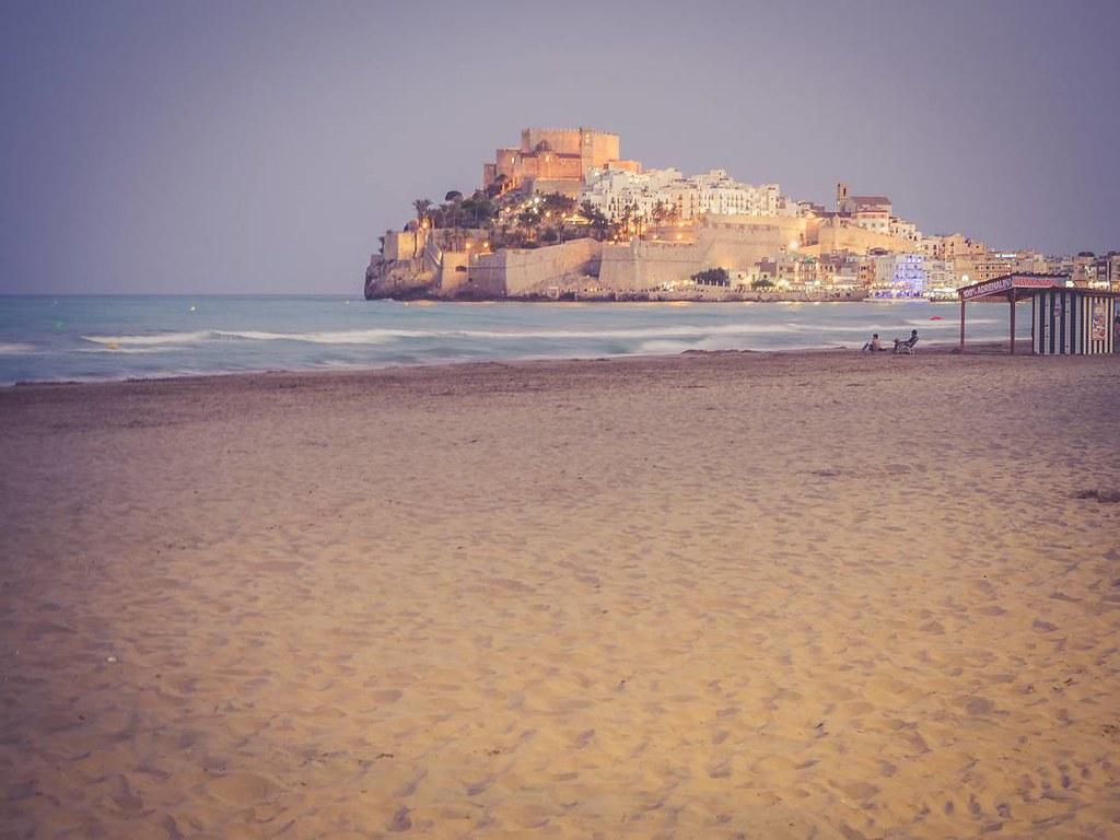 El castillo al atardecer. #Peñíscola #castellon #photography #olympusomd #summer2017 #august #travelphoto #beach #mediterráneo