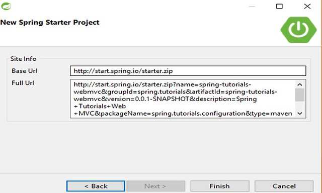 Spring MVC Create a Project