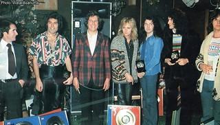 Queen @ Advision Studios, ADATR - 1976