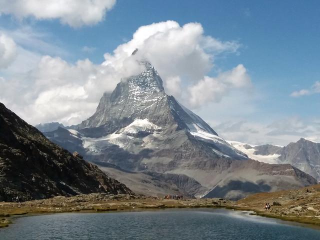 Riffelsee mit Blick aufs Matterhorn