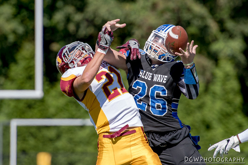 St. Joseph vs. Darien High - High School Football
