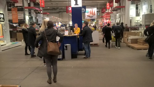 IKEA op zaterdag
