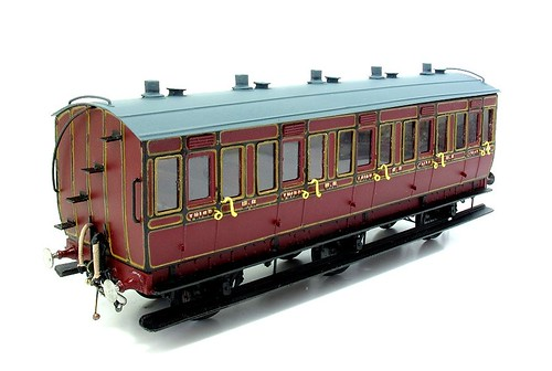 Midland Railway 6 wheel coach
