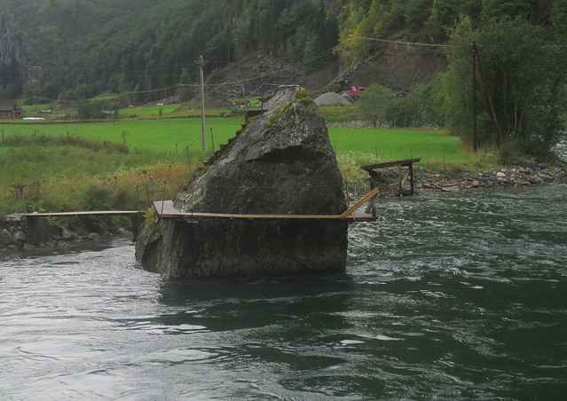 Fishing Platforms, Flåm, by Aurlandsfjord, Norway