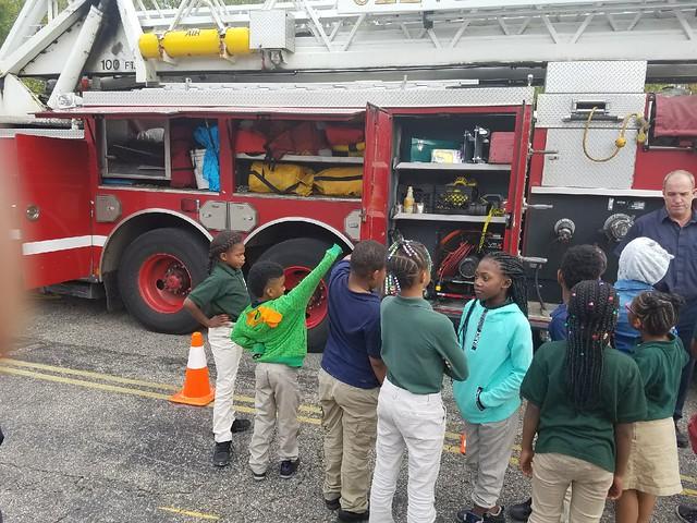 Fire Department Visit 10.10.17