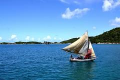 Sailboat Labadee, Haiti.