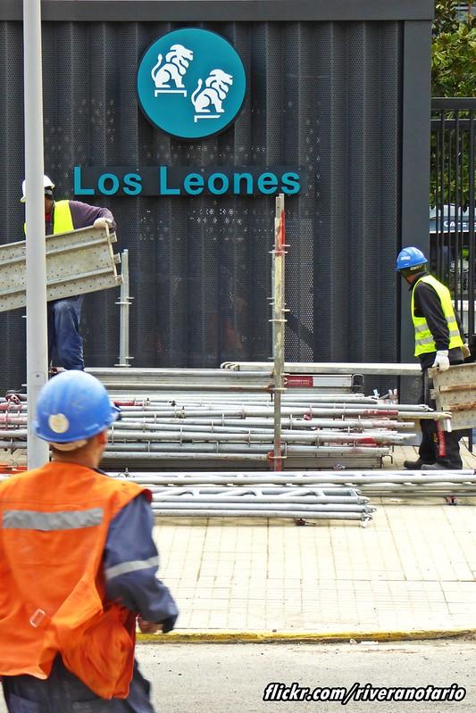Metro Los Leones Línea 6