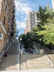 West 215th Step Street, Inwood, New York City
