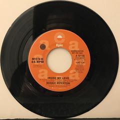 MINNIE RIPERTON:INSIDE MY LOVE(RECORD SIDE-B)