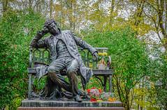 Pushkin Monument in Saint Petersburg, Russia