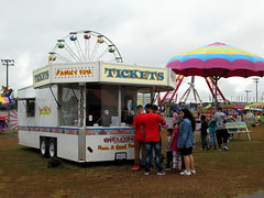 Tickets Trailer And Carnival Rides.