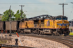 UP 5902   GE AC4400CWCTE   BNSF Thayer South Subdivision