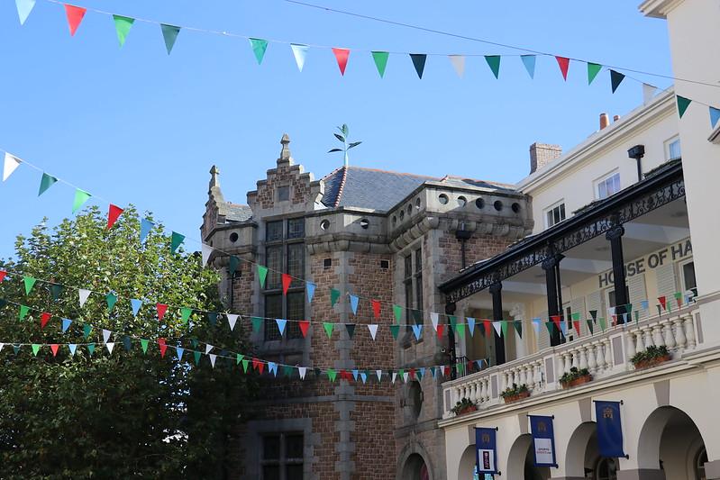 St Peter Port central square