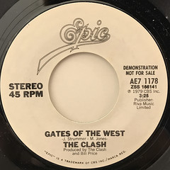 THE CLASH:GATES OF THE WEST(LABEL SIDE-A)