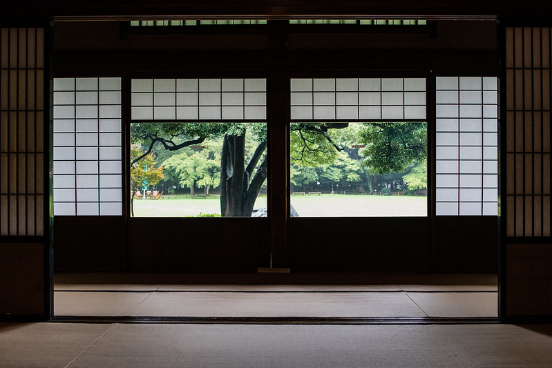 旧岩崎邸和室