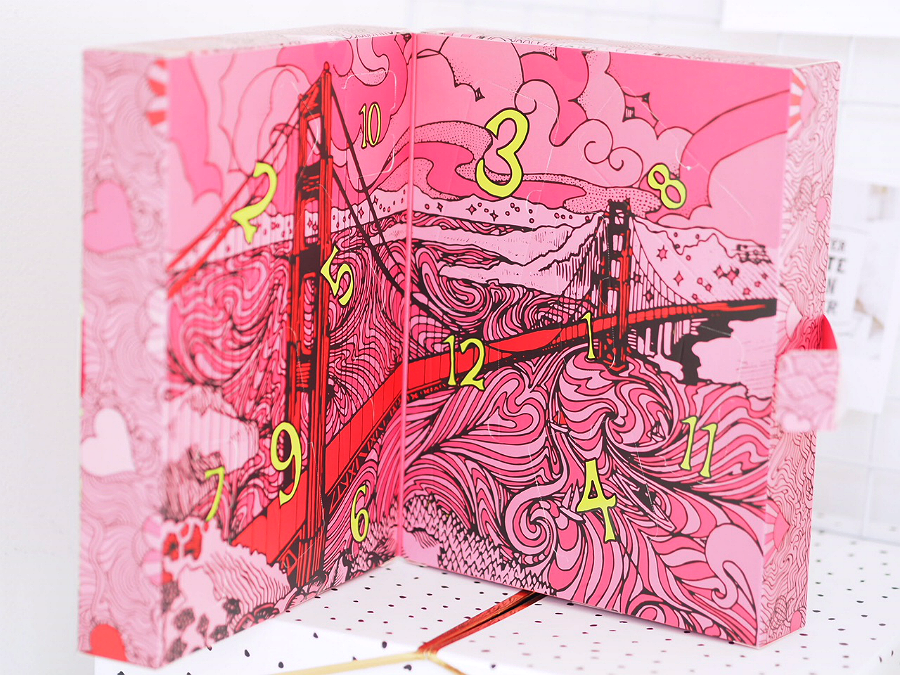 Christmas with benefit advent calendar