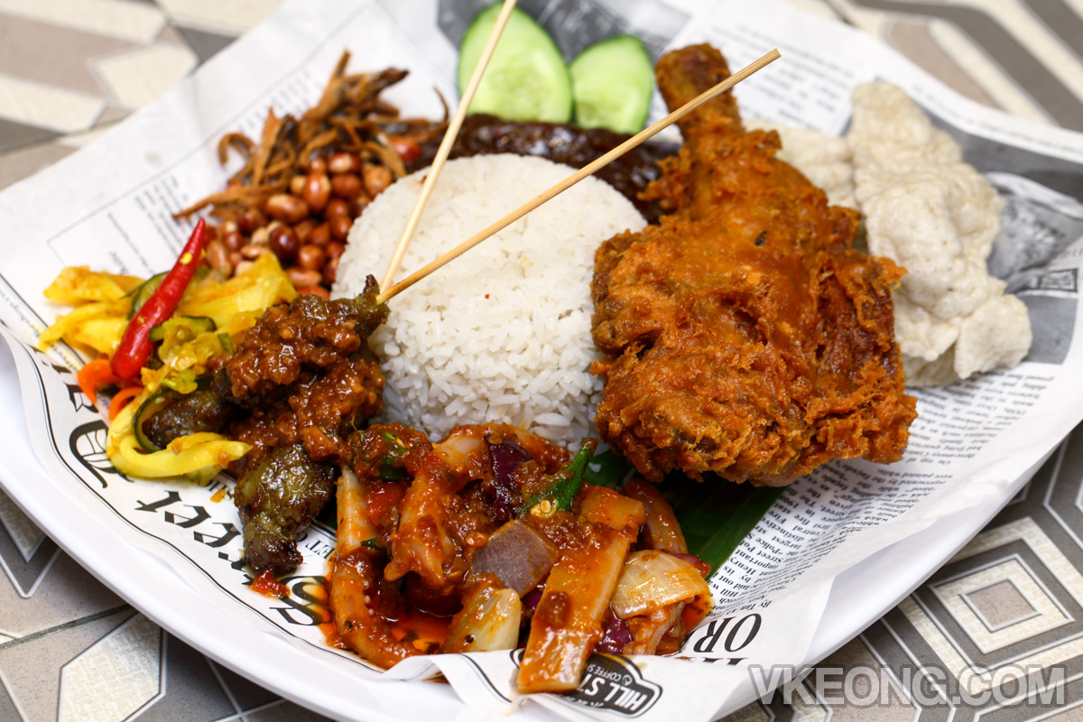 Hill-Street-Coffee-Shop-Singapore-Nasi-Lemak