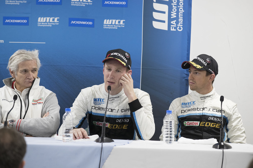 CATSBURG Nicky (ned) Volvo S60 Polestar team Polestar Cyan Racing ambiance conference de presse press conference during the 2017 FIA WTCC World Touring Car Championship race at Motegi from october 27 to 29, Japan - Photo Gregory Lenormand / DPPI