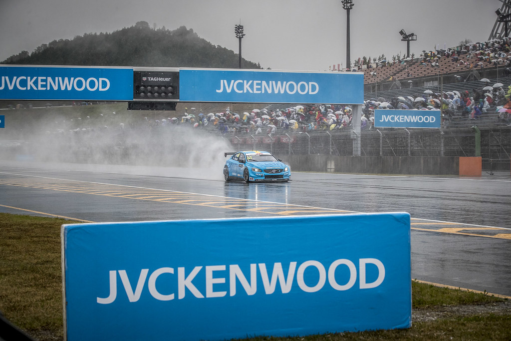 61 GIROLAMI Nestor (arg) Volvo S60 Polestar team Polestar Cyan Racing action during the 2017 FIA WTCC World Touring Car Championship race at Motegi from october 27 to 29, Japan - Photo Gregory Lenormand / DPPI