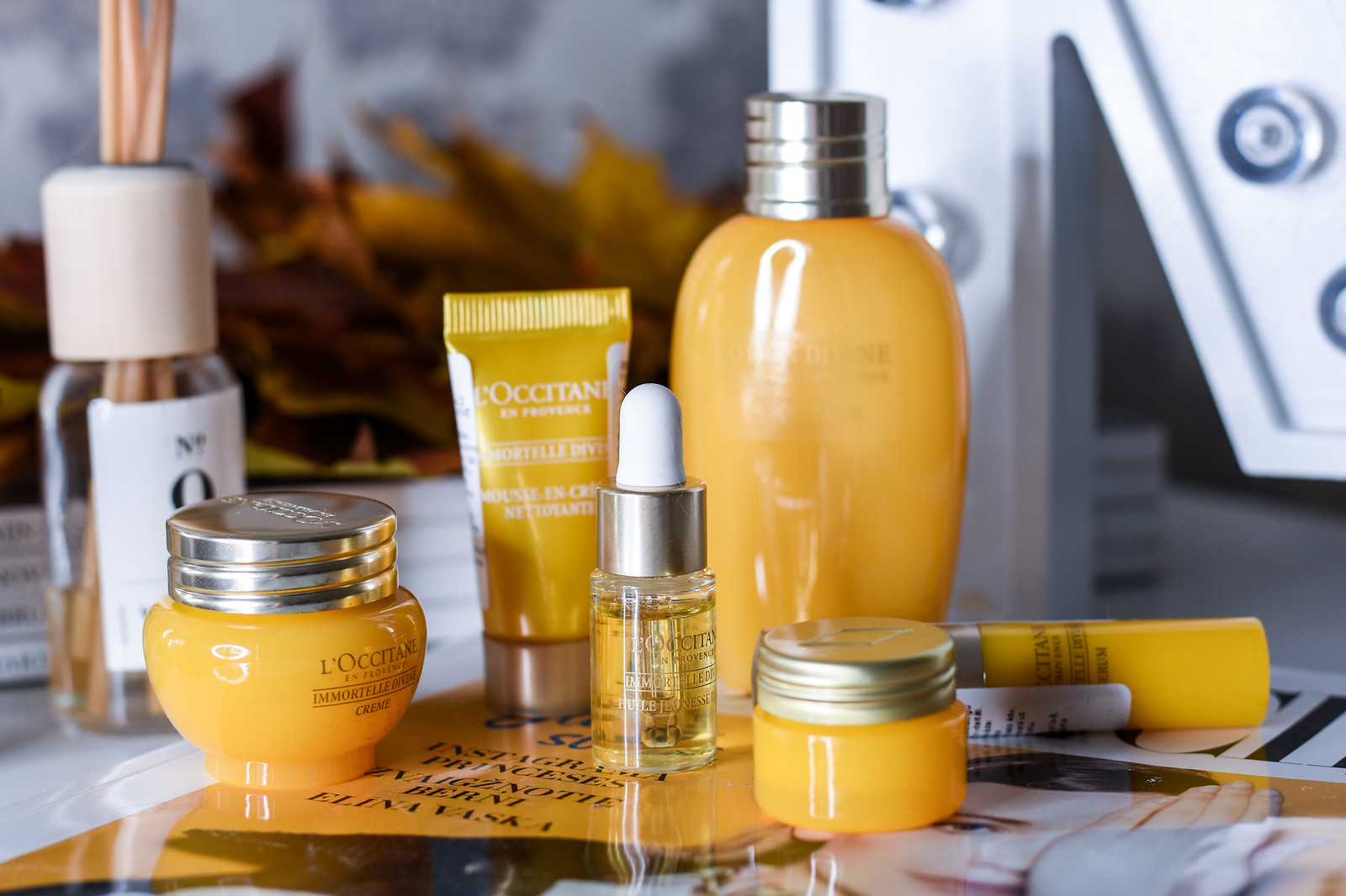 LOccitane Imortelle Divine collection review