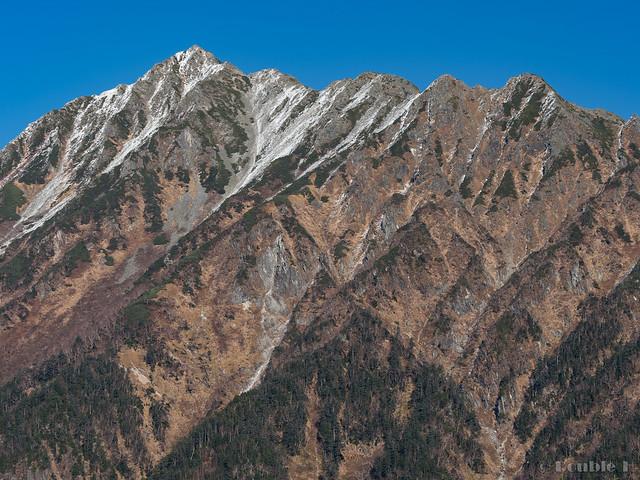 Shinhotaka Ropeway 2017.10.27 (16) Mount Nishihotaka (Nishihotaka-dake)