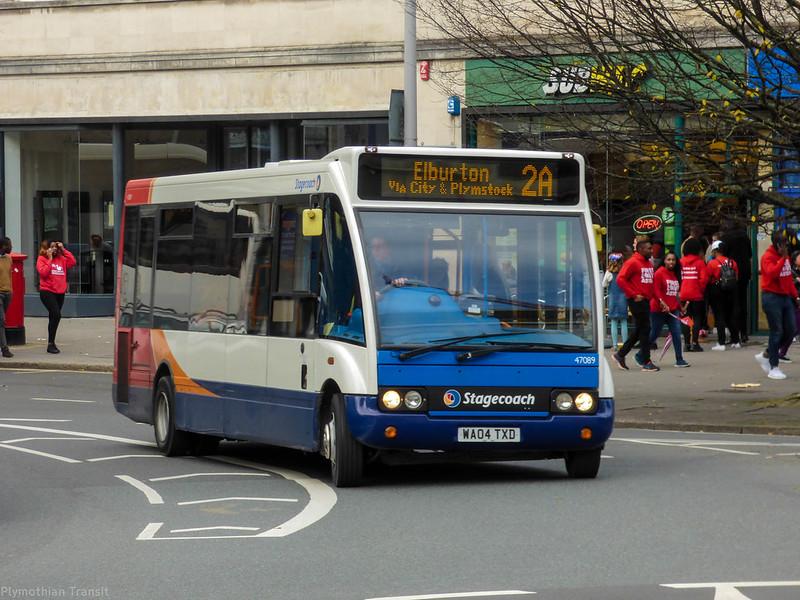 Stagecoach Devon 47089 WA04TXD
