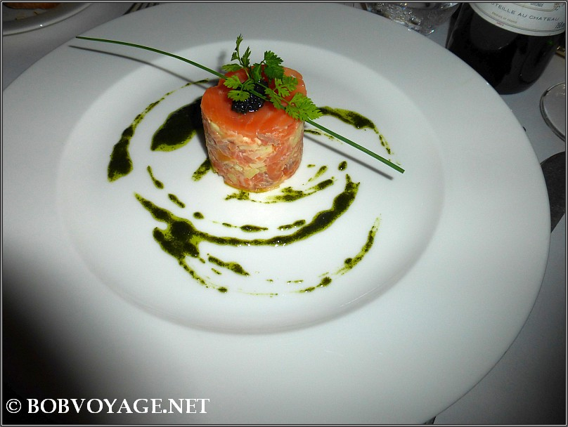 Salmon at The French Horn