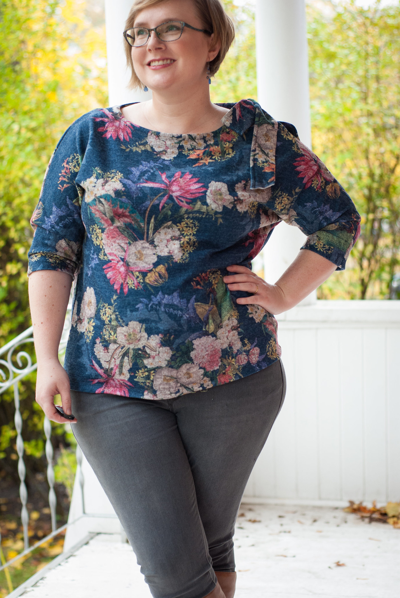 Blackbird Fabrics Bow Top