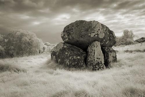 cleenrah cleenrath dolmen ireland longford megalithic portaltomb