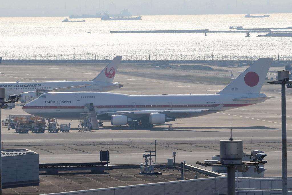 "JASDF 日本国政府専用機 ""Japanese Air Force 001"""