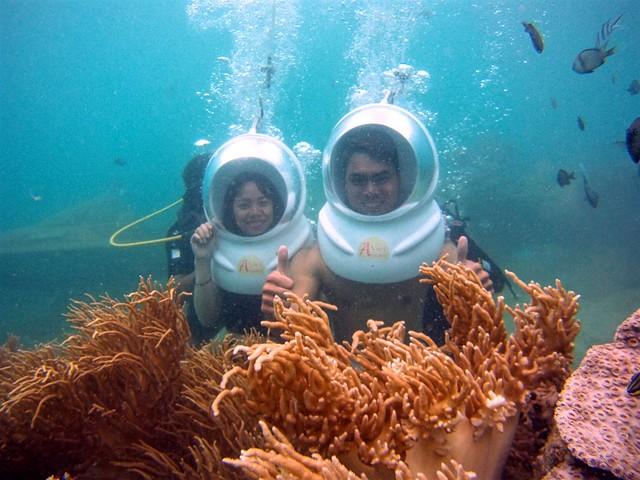 Tour Cano Đi Bộ Dưới Biển