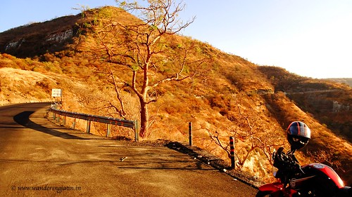 Encountering Ghat roads near Aurangabad