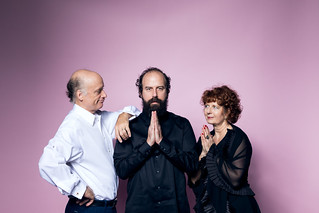 Frank Wood, Brett Gelman, and Paula Plum