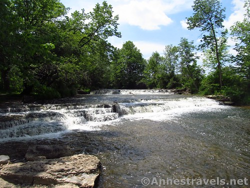 There is a second waterfall along the Ontario Pathways Rail Trail (you'll have to go off-trail to find it) before Phelps Junction, New York