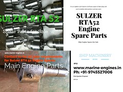 Sulzer RTA Spare Parts, Nozzle, Fuel, Injector, valve, piston, Liner, Jacket, Head, Block, sleeve, screw, crown, shaft
