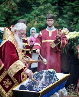 Литургия в Хутынском монастыре 470