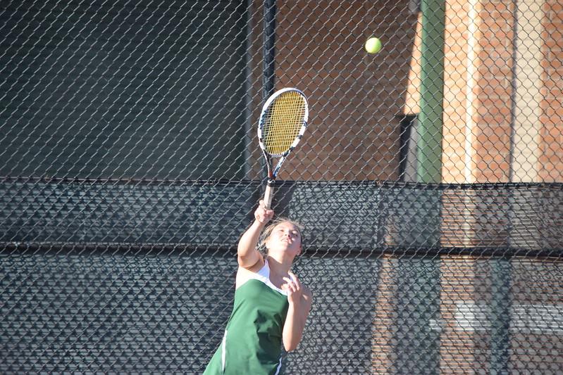 Girls Varsity Tennis defeats Shoreham-Wading River