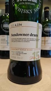 SMWS 4.234 - Sundowner dram