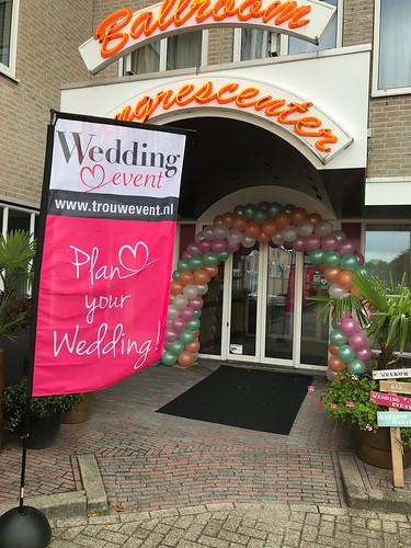 Ballonboog 6m Trouwbeurs Wedding Event Carlton Oasis Hotel Spijkenisse