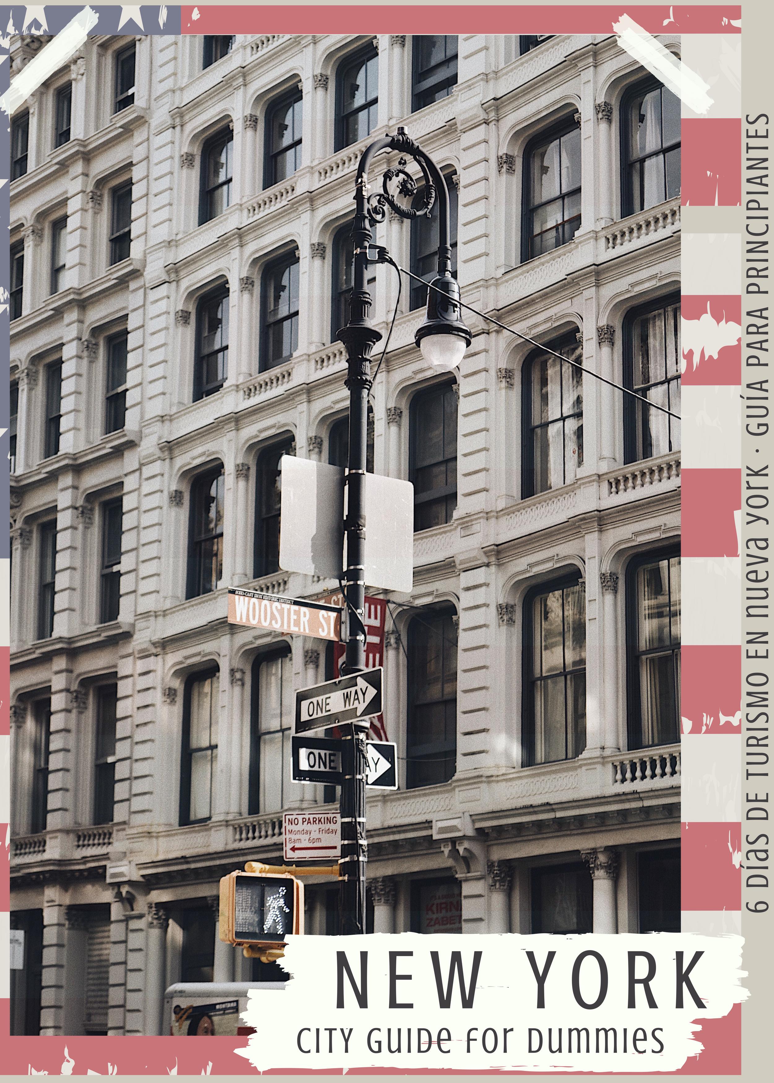 ruta de 6 dias en nueva york