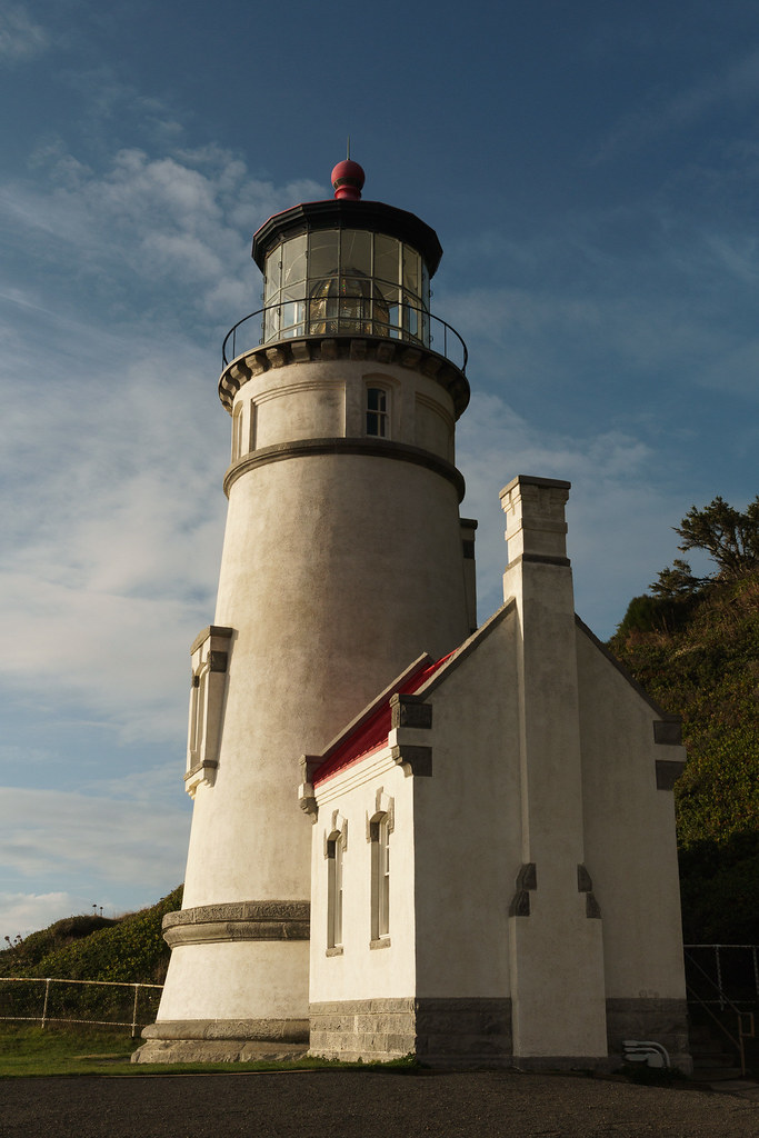 The Heceta Head Light on the Oregon coast