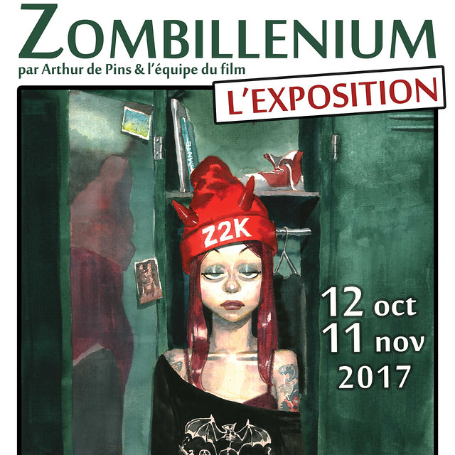 Galerie Artludik : Exposition Zombillénium 2017 - visite