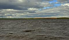 Choppy Waves on the Lake.